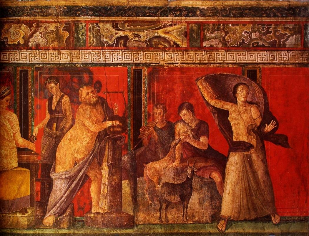 Frescă de la Pompei