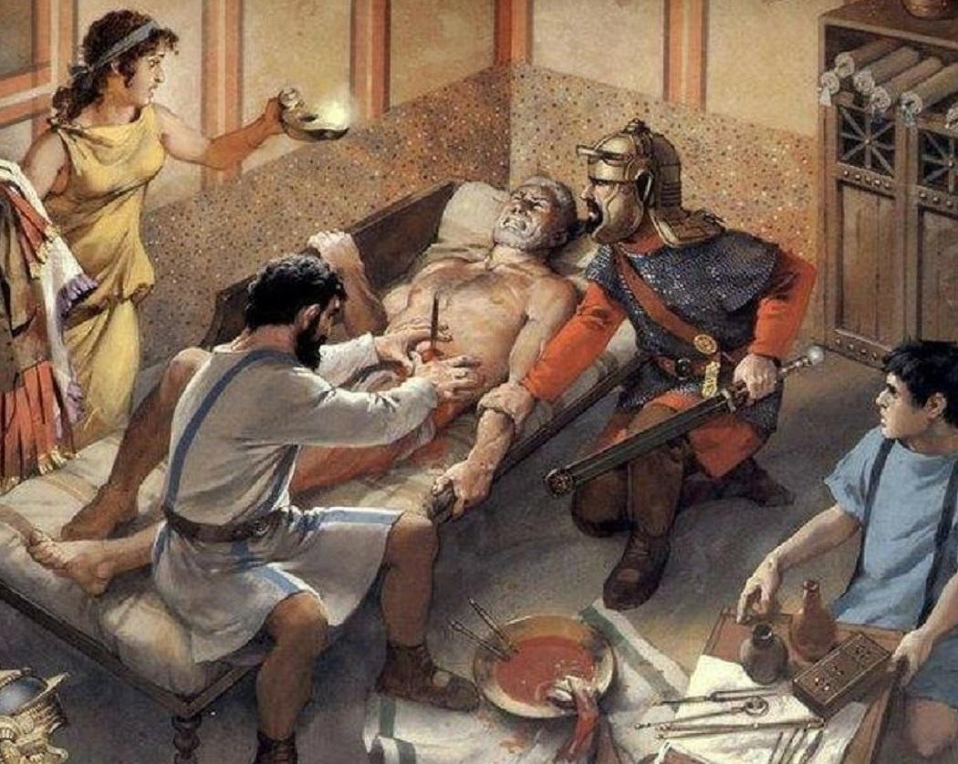 Chirurgie în Roma antică
