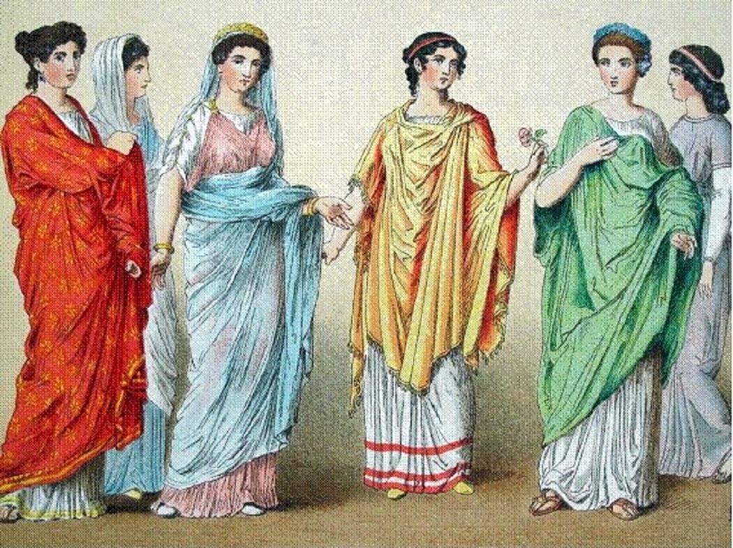 Femei din Roma antică