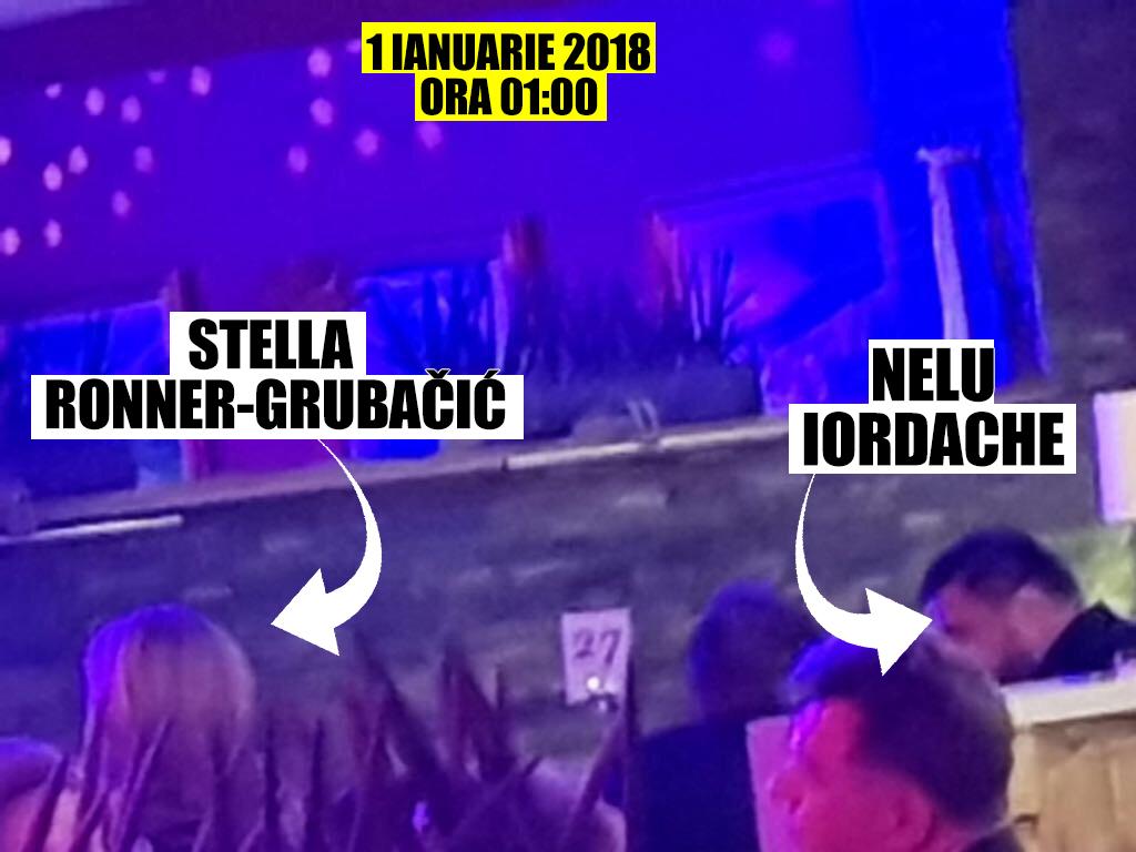 Ambasadoarea Olandei (o aprigă critică a Legilor Justiţiei) a petrecut Noaptea dintre Ani la aceeaşi masă cu celebrul Nelu Iordache, condamnat pentru corupţie