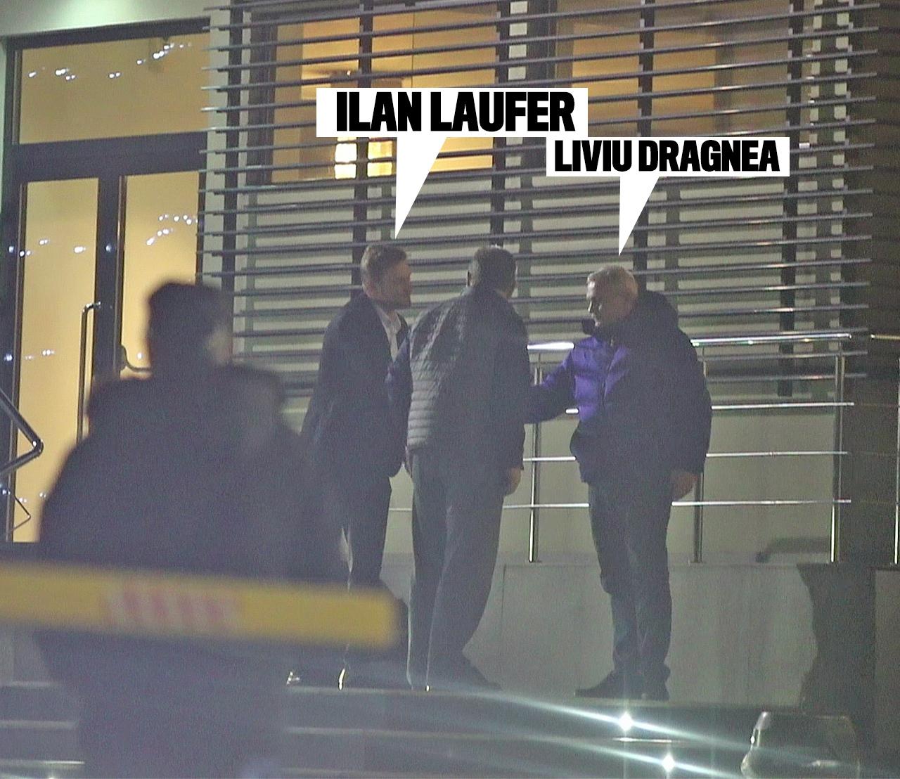 Ilan Laufer îl salută de rămas bun pe Liviu Dragnea