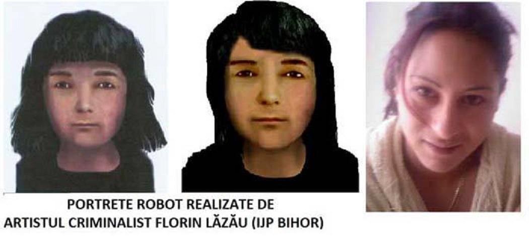 O altă reuşită a portretistului-criminalist a fost cazul lui Carmen Kraiczar (foto: jurnalul.ro)