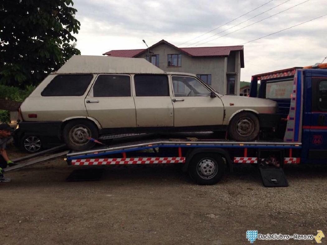 Iulian are şi o Dacia Maxi Break, ceva rar chiar şi pentru cunoscători