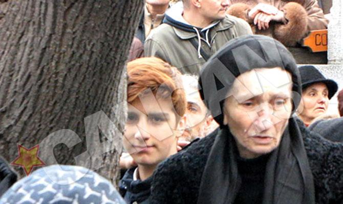 Carol Ionescu si bunica sa