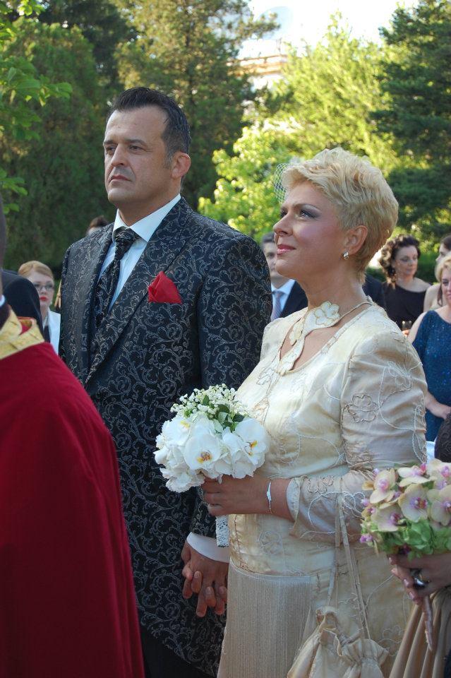 Teo Trandafir si Constantin Iosef s-au casatorit de ziua vedetei de televiziune