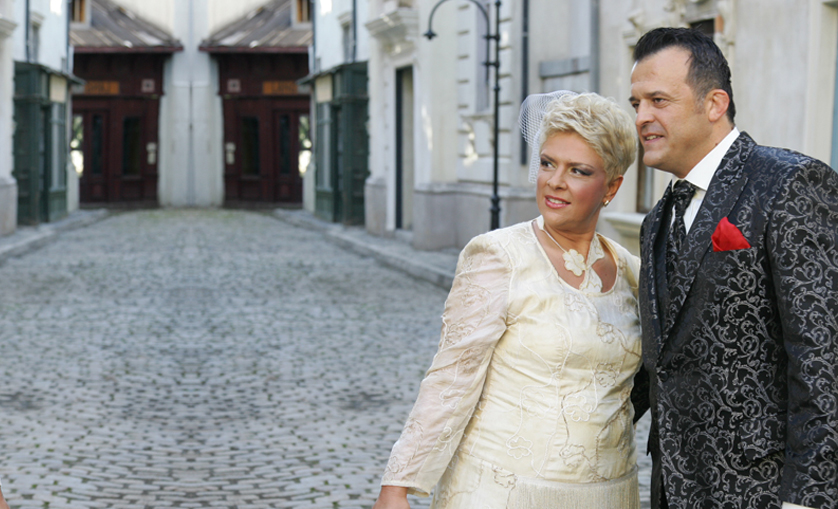 Teo si Costi au facut in vara lui 2012 nunta mare in incinta platourilor de la Buftea