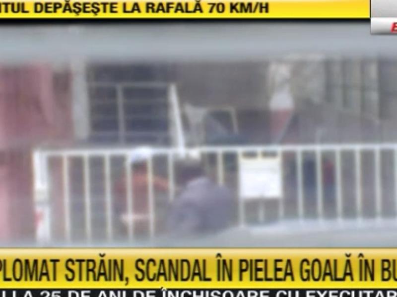 Scandal violent la Ambasada Nigeriei din Capitală! Un femeie angajată acolo s-a dezbrăcat în plină stradă!