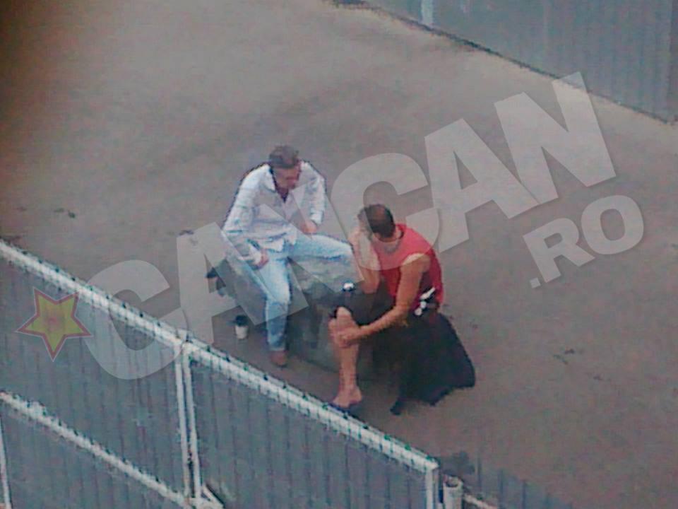 Gigi Becali s a imprietenit in puscarie cu fostul sau dusman, procurorul Max Balasescu