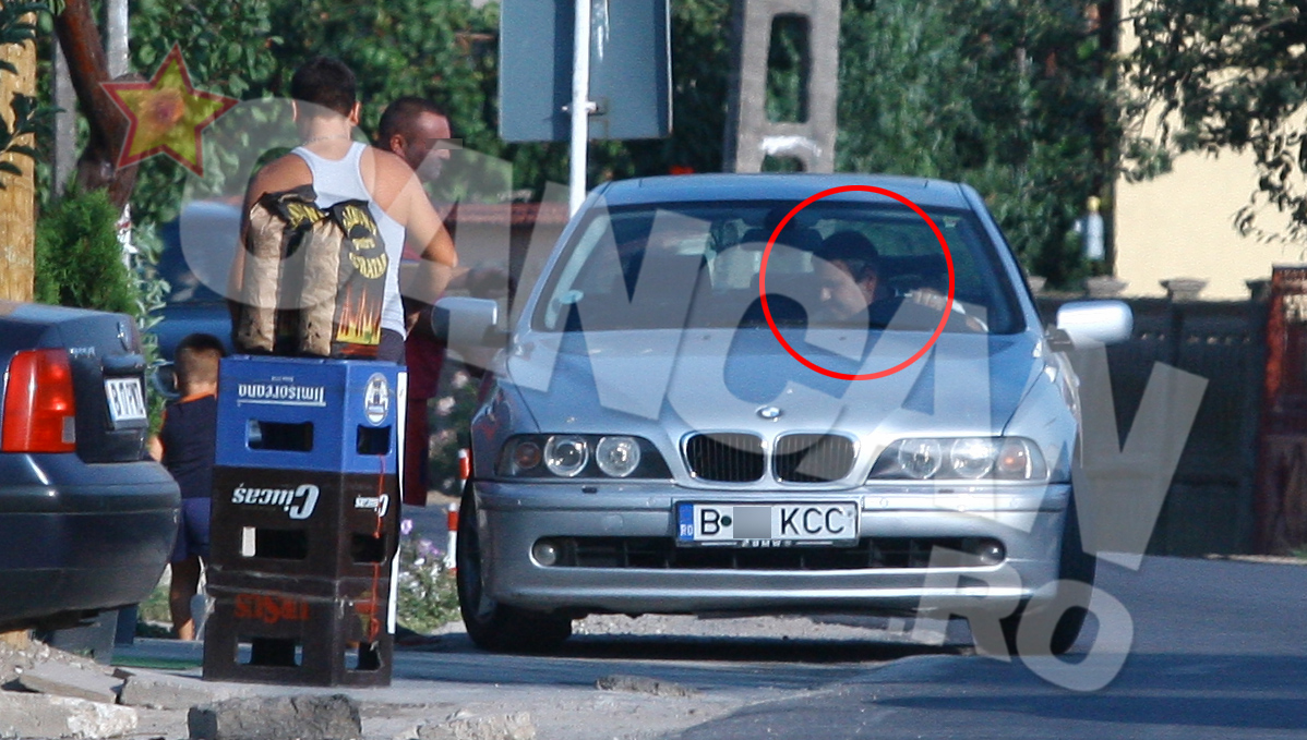 Directorul de la Jilava conduce un BMW argintiu