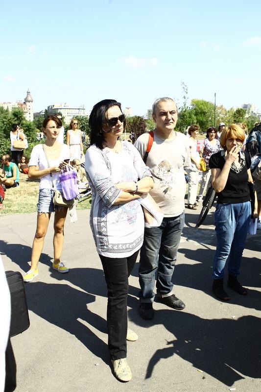 Vedete la protestul pentru protejarea drepturilor animalelor - 28