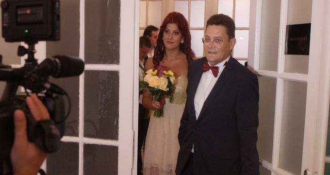 Mihail Balasescu si Ana Maria s-au casatorit in 2012 (foto:arhiva personala Ana Maria Balasescu)