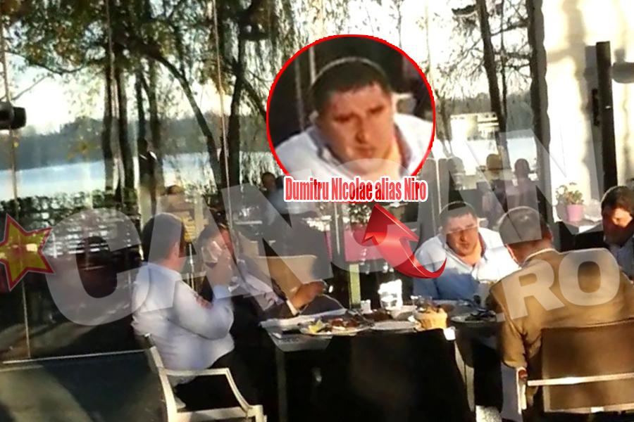 La petrecerea lui Gabriel Oprea a participat si afaceristul Dumitru Nicolae, alias Niro, si el membru al partidului condus de sarbatorit