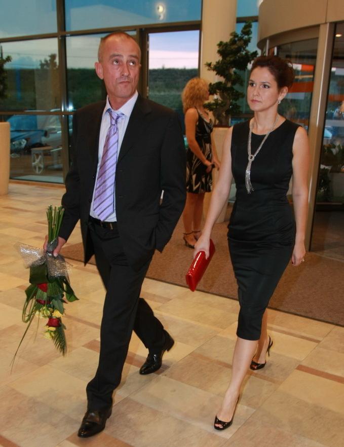 Dumitru Bucsaru si Nicoleta inainte de divort