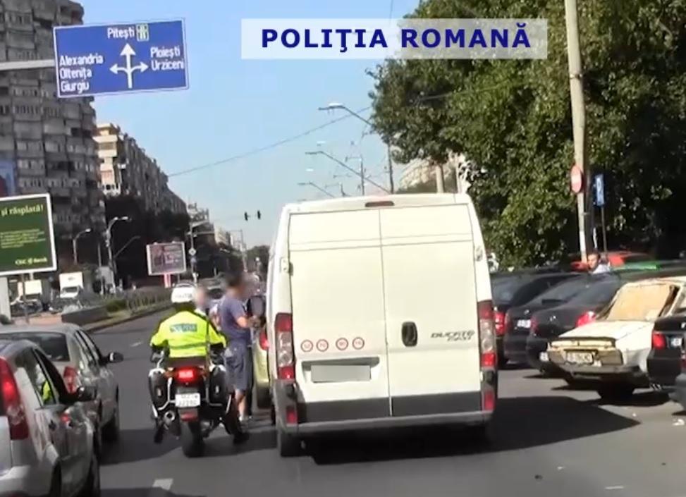 Politia Rutiera a confiscat in weekedn 16 permise de conducere