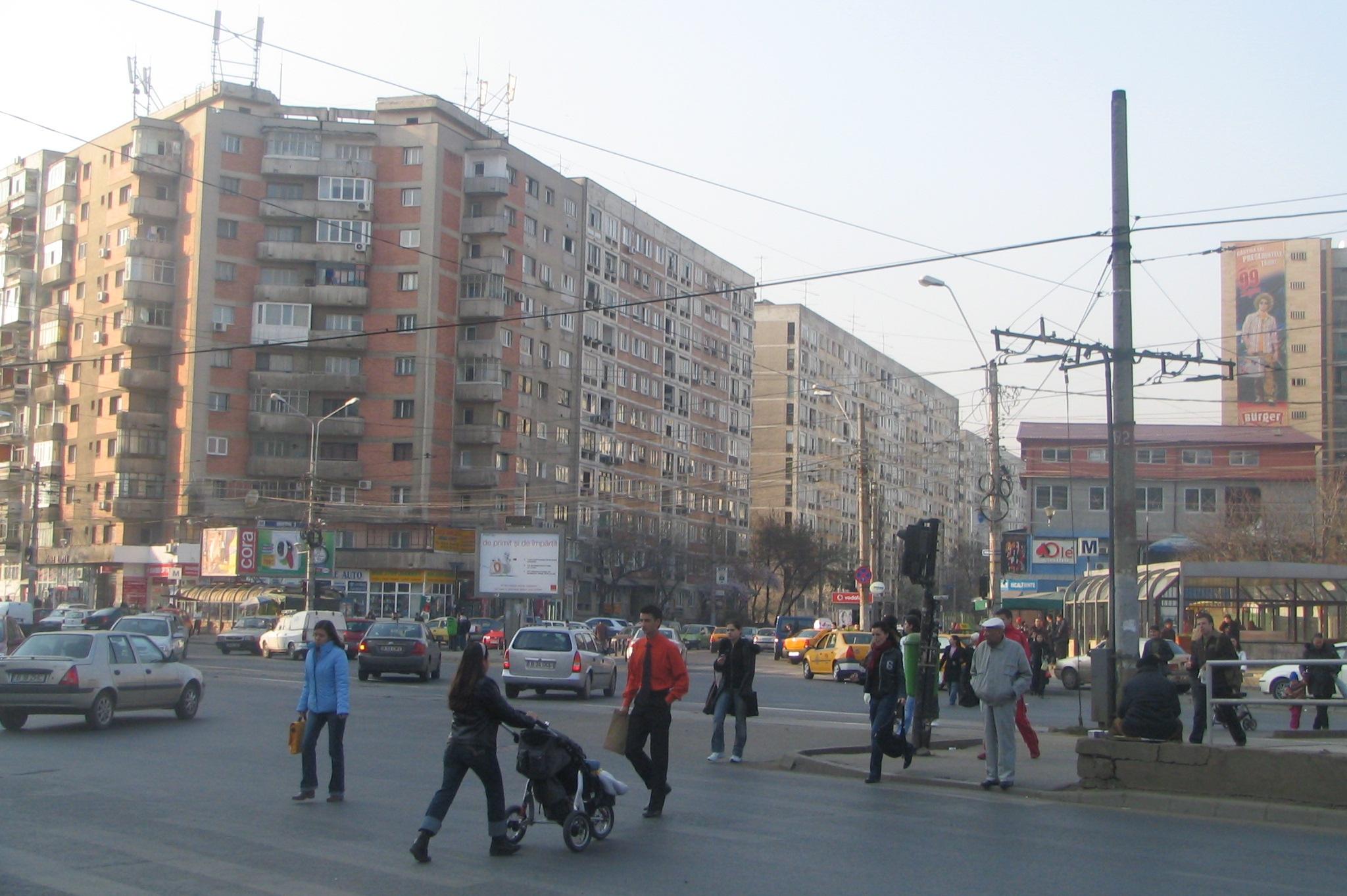 Vedere din cartierul Dristor