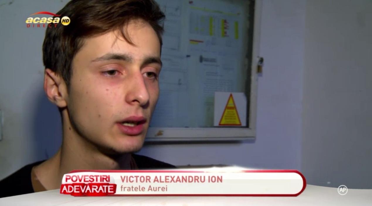 Victor Ion, fratele Aureliei
