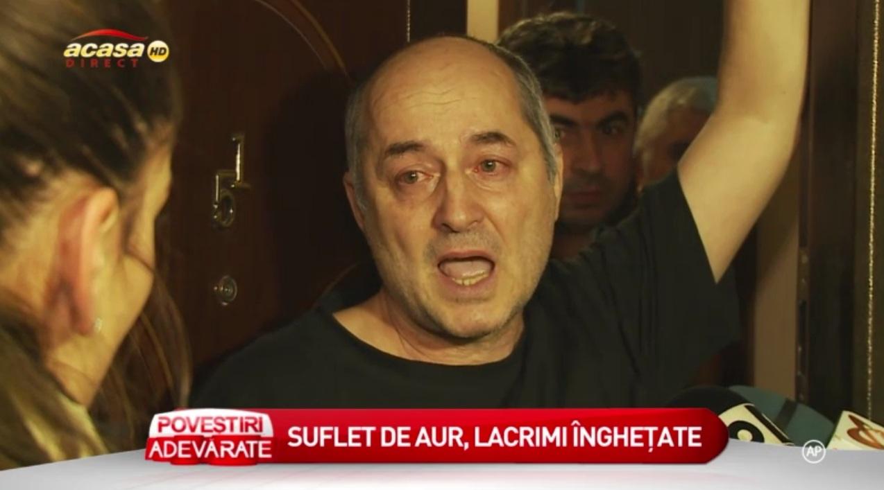 Tatal Aureliei Ion este sfasiat de durere