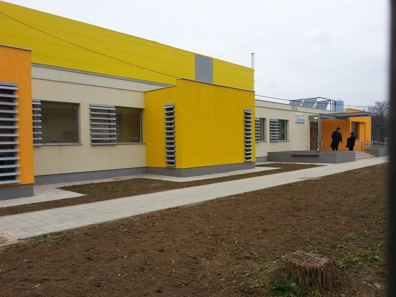 Sala de sport este facuta la standarde europene