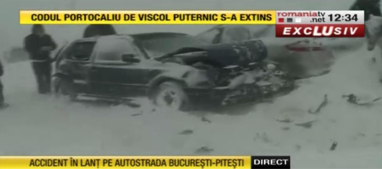 Accident pe ruta Bucuresti Constanta