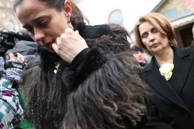 Fiica lui Adrian Iovan s-a abtinut sa nu planga