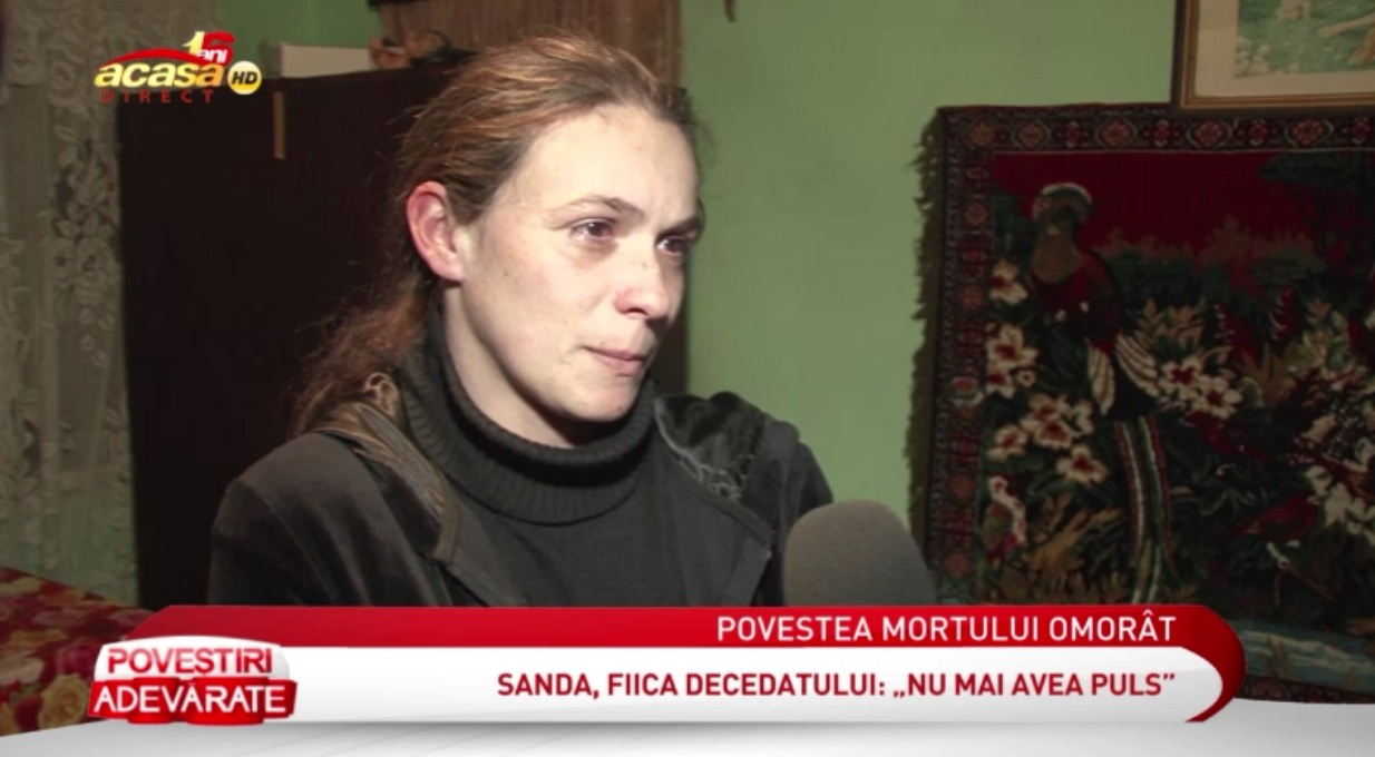 Sanda este acuzata ca si-a omorat tatal