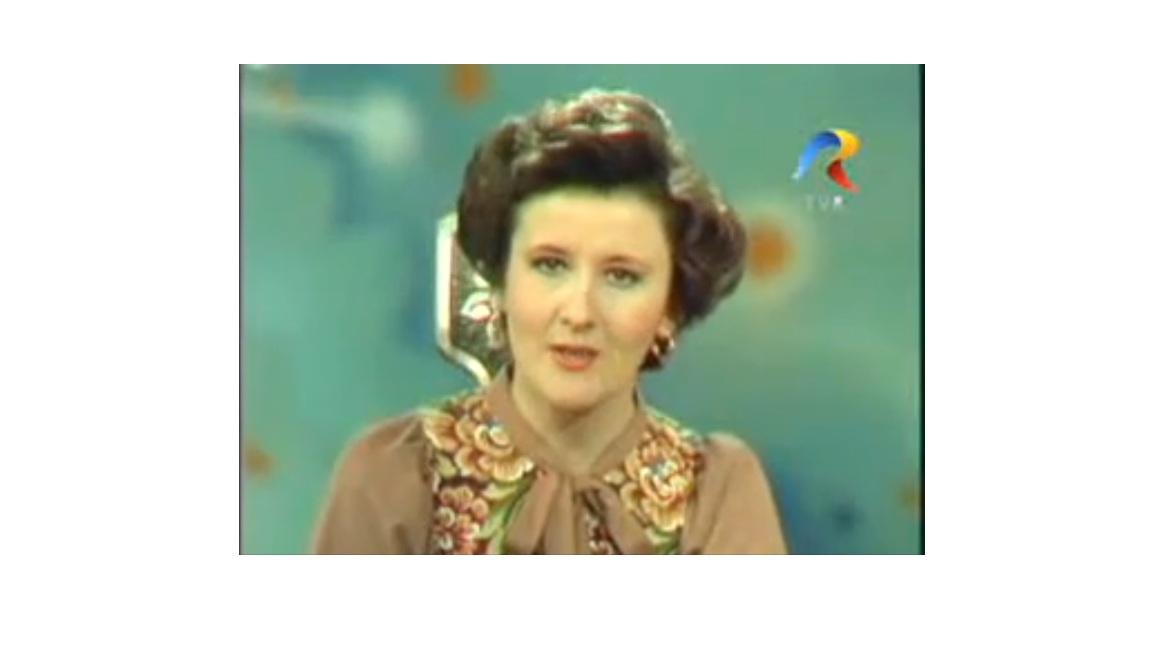 Marioara Murarescu, pe cand avea 35 de ani