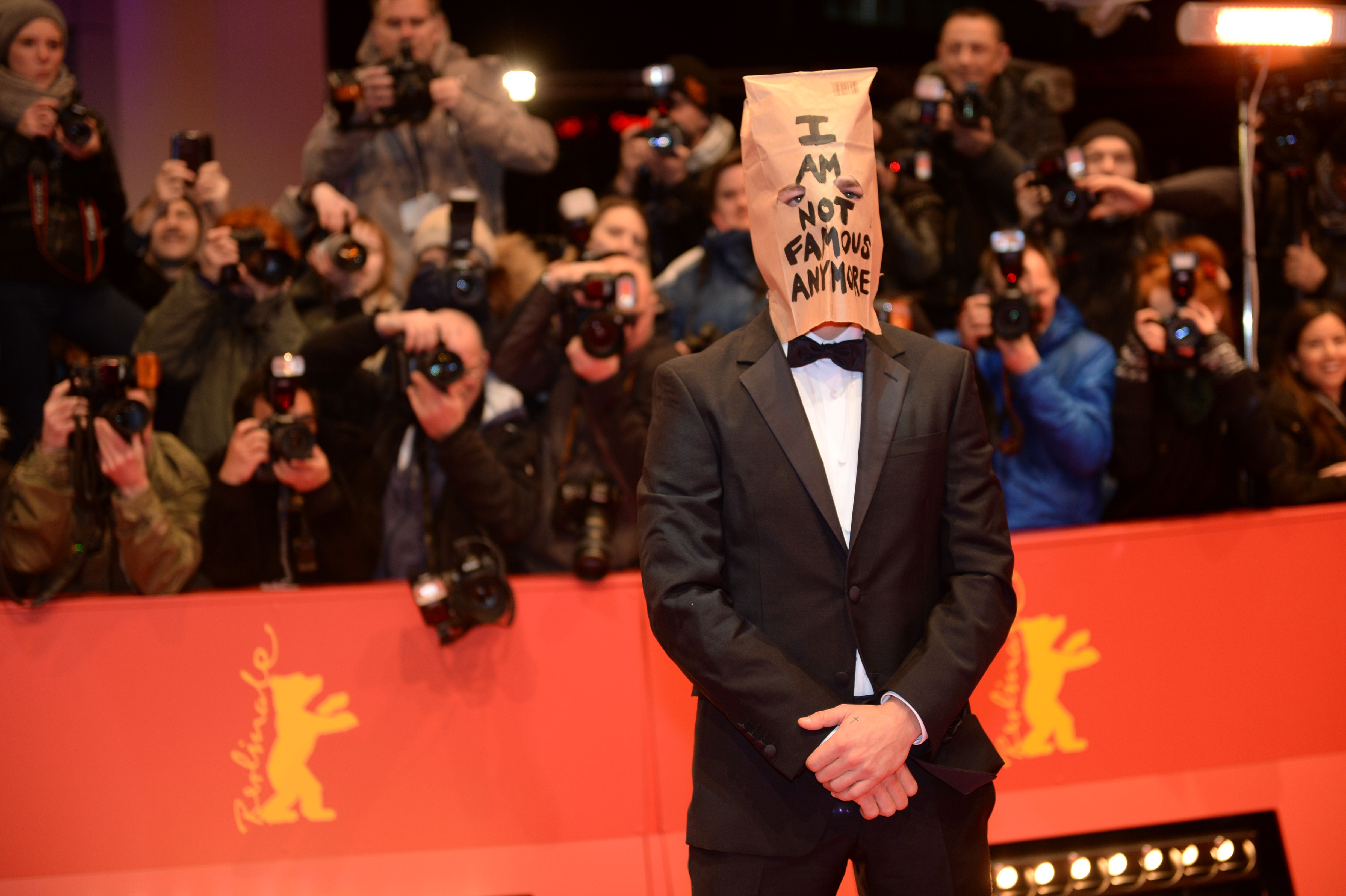 sa a venit actorul la prezentarea primei parti a filmului Nymphomaniac