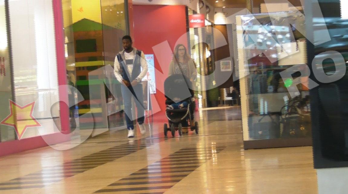 Varela nu a pierdut mult timp in mall