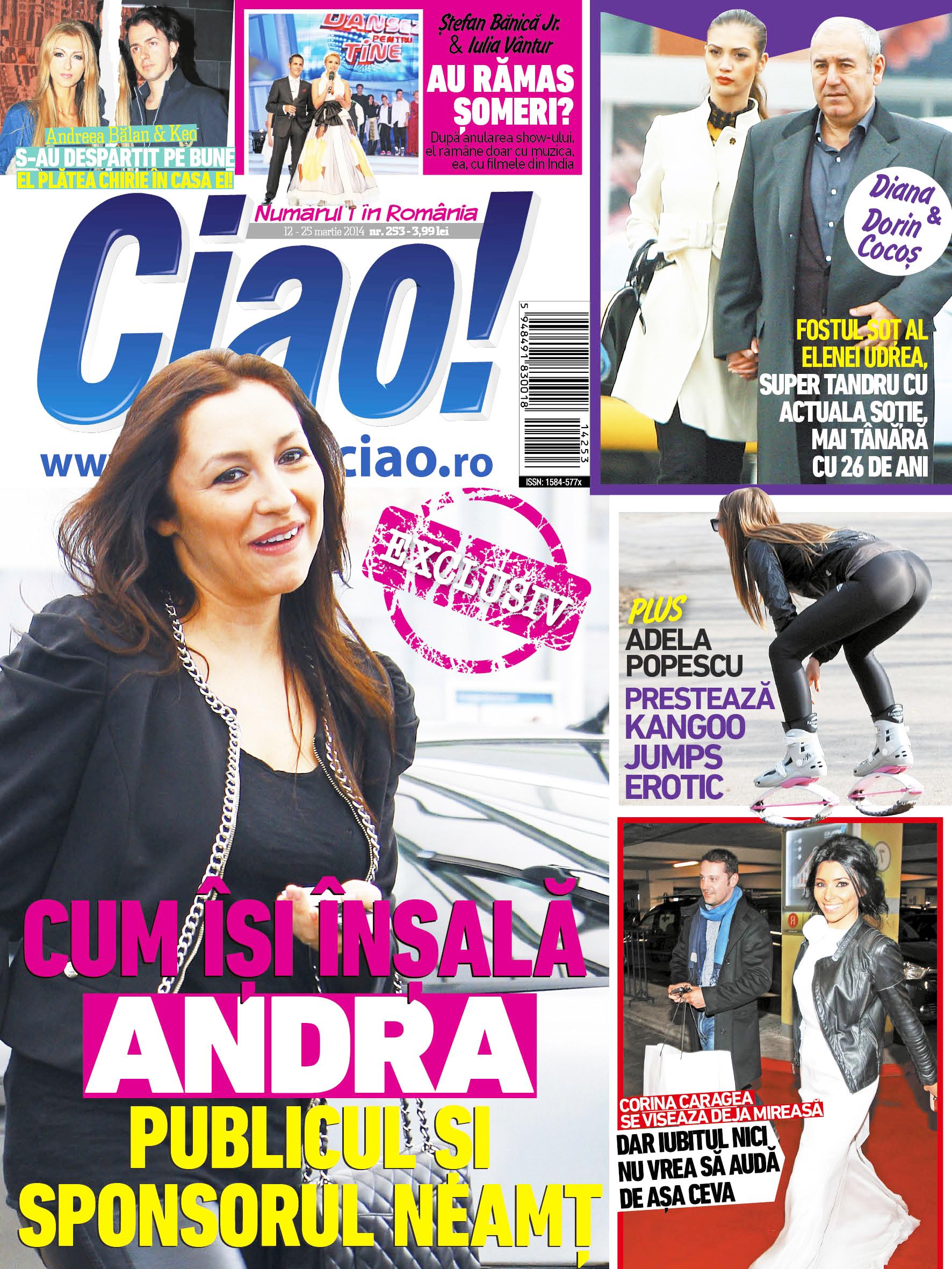 Pentru prima data de cand au facut nunta, revista CIAO! i-a surprins pe sotii Cocos iesind in oras impreuna