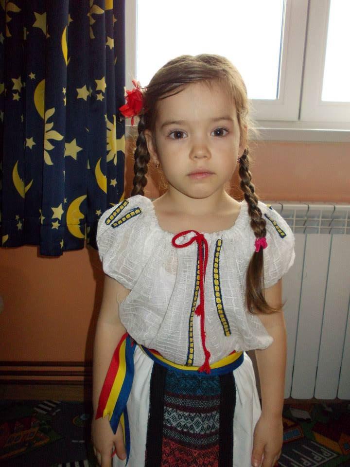 Anastasia are acum patru ani si jumatate