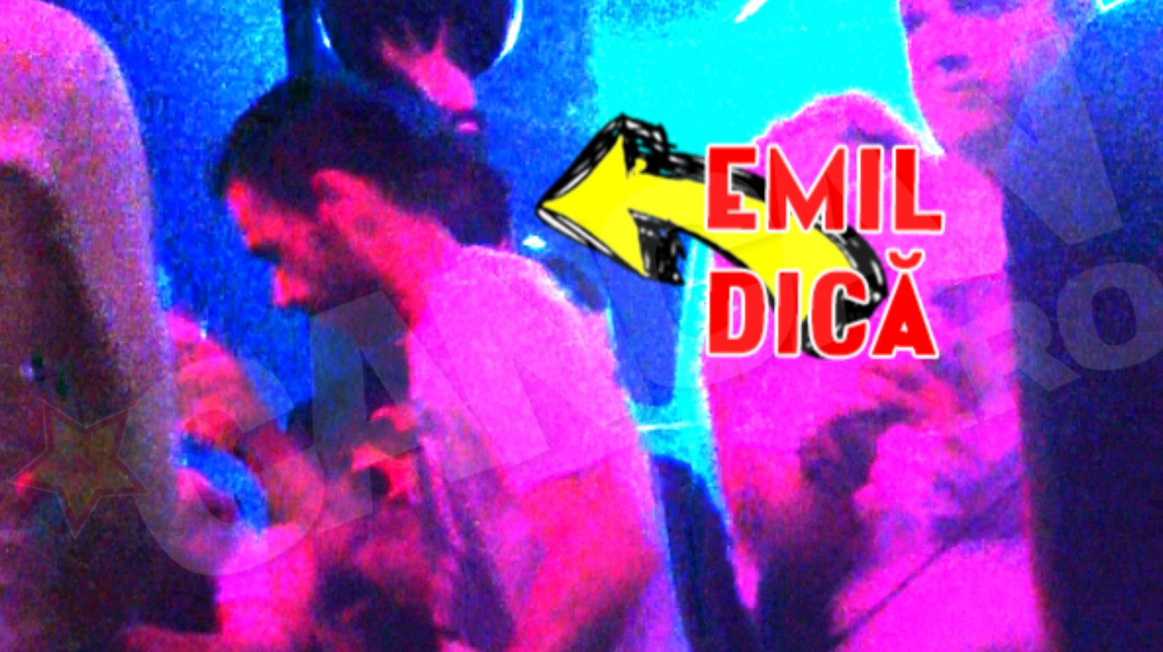 Emil Dica a petrecut non-stop
