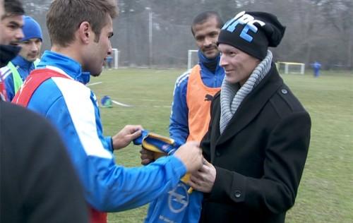Adrian Mutu l-a incurajat pe Vlad