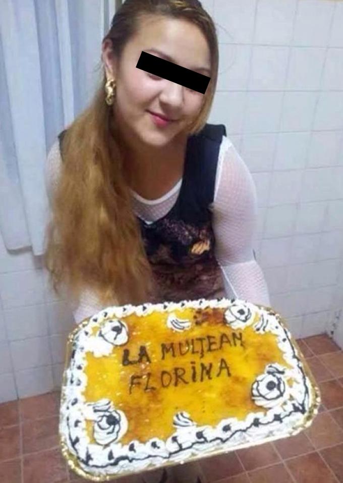 Florina nu a observat greseala parintilor si a urcat poza pe Facebook