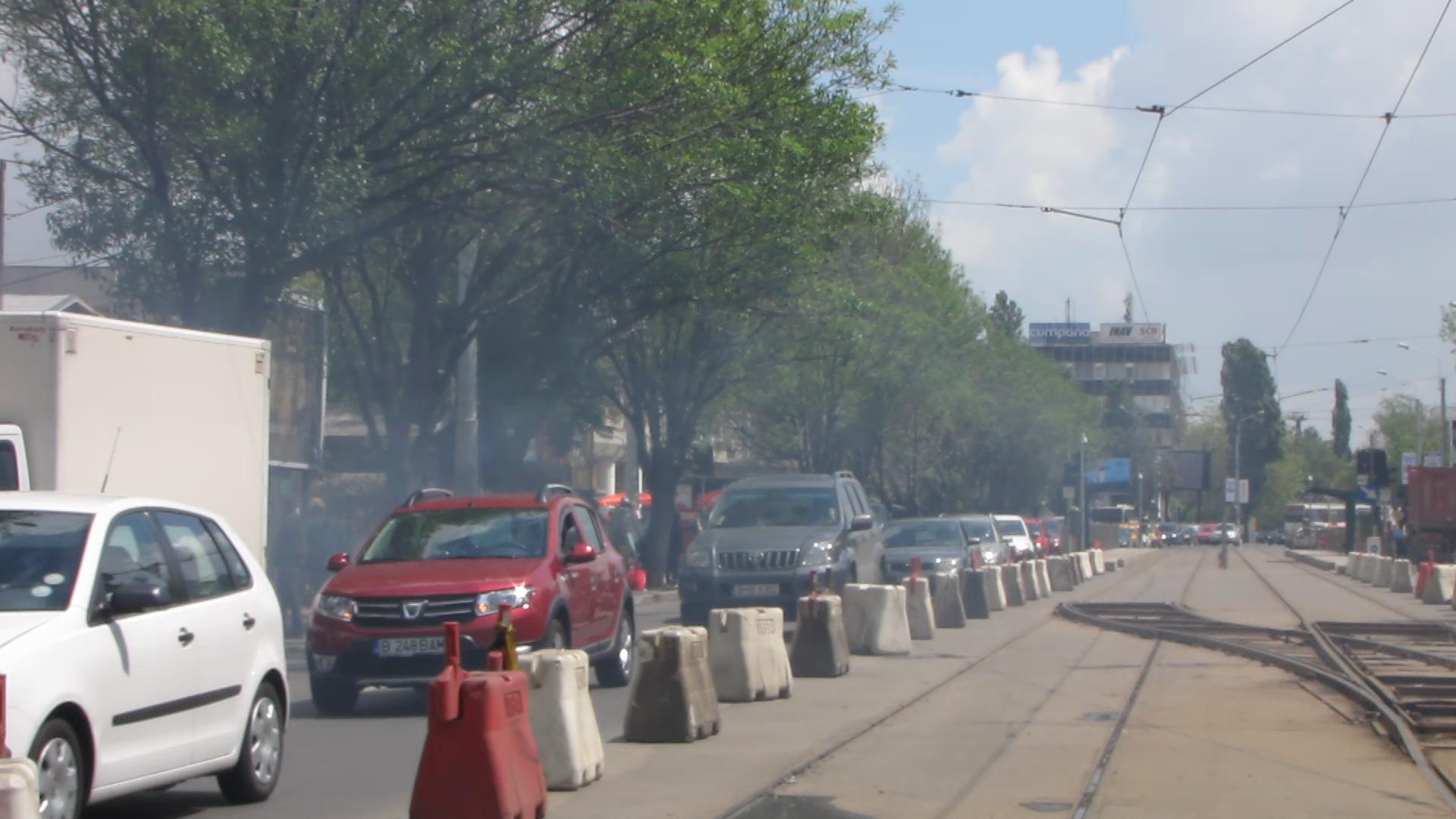 Fumul de gratar a ainvaluit toata zona de Nord a Capitalei