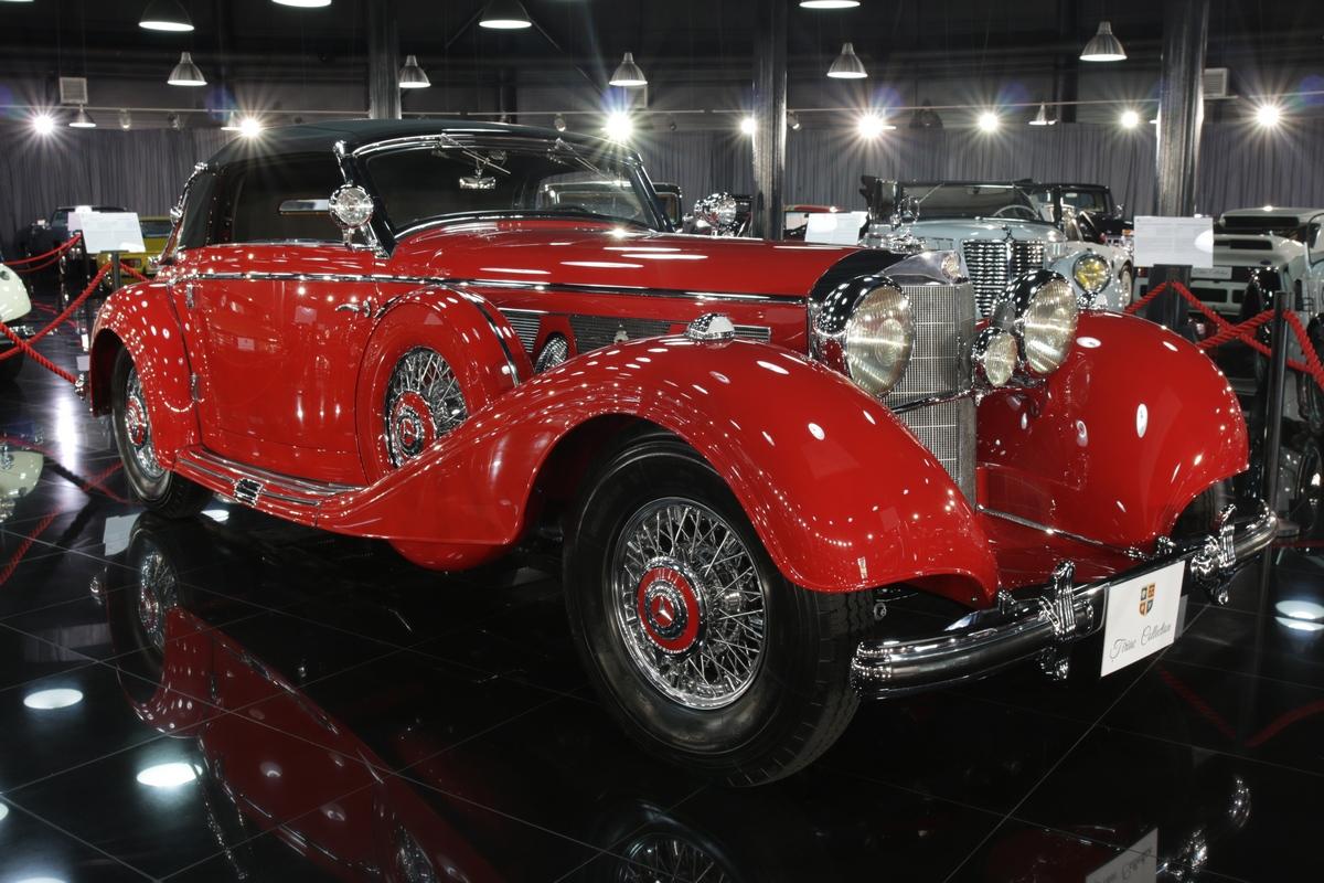 Aceasta bijuterie, un Mercedes-Benz 540K, a luat locului bolidului SLR Stirling Moss Edition