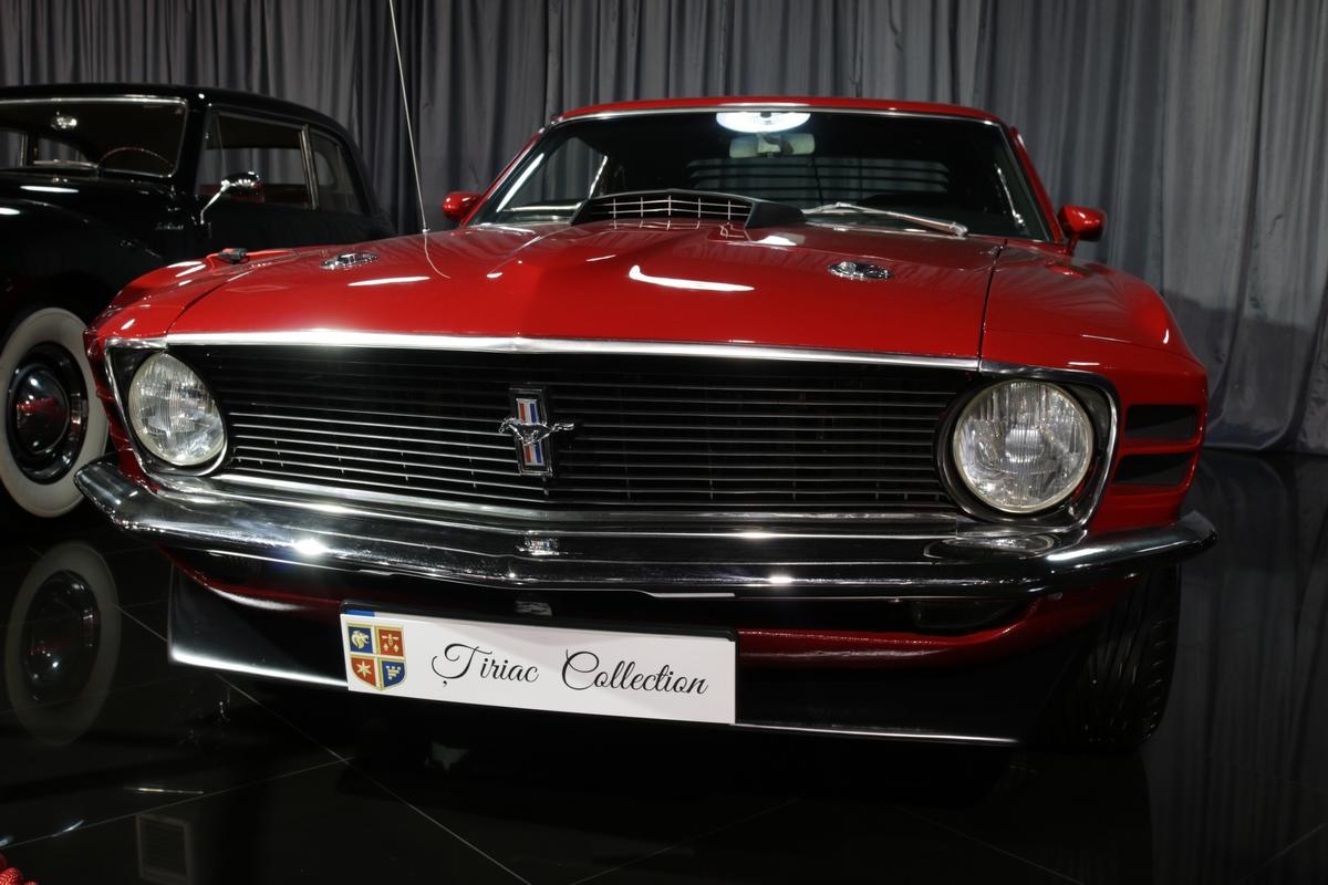 Fordul Mustang Mach 1 a fost masina acre s-a intors la Tiriac, chiar si dupa ce a vandut-o