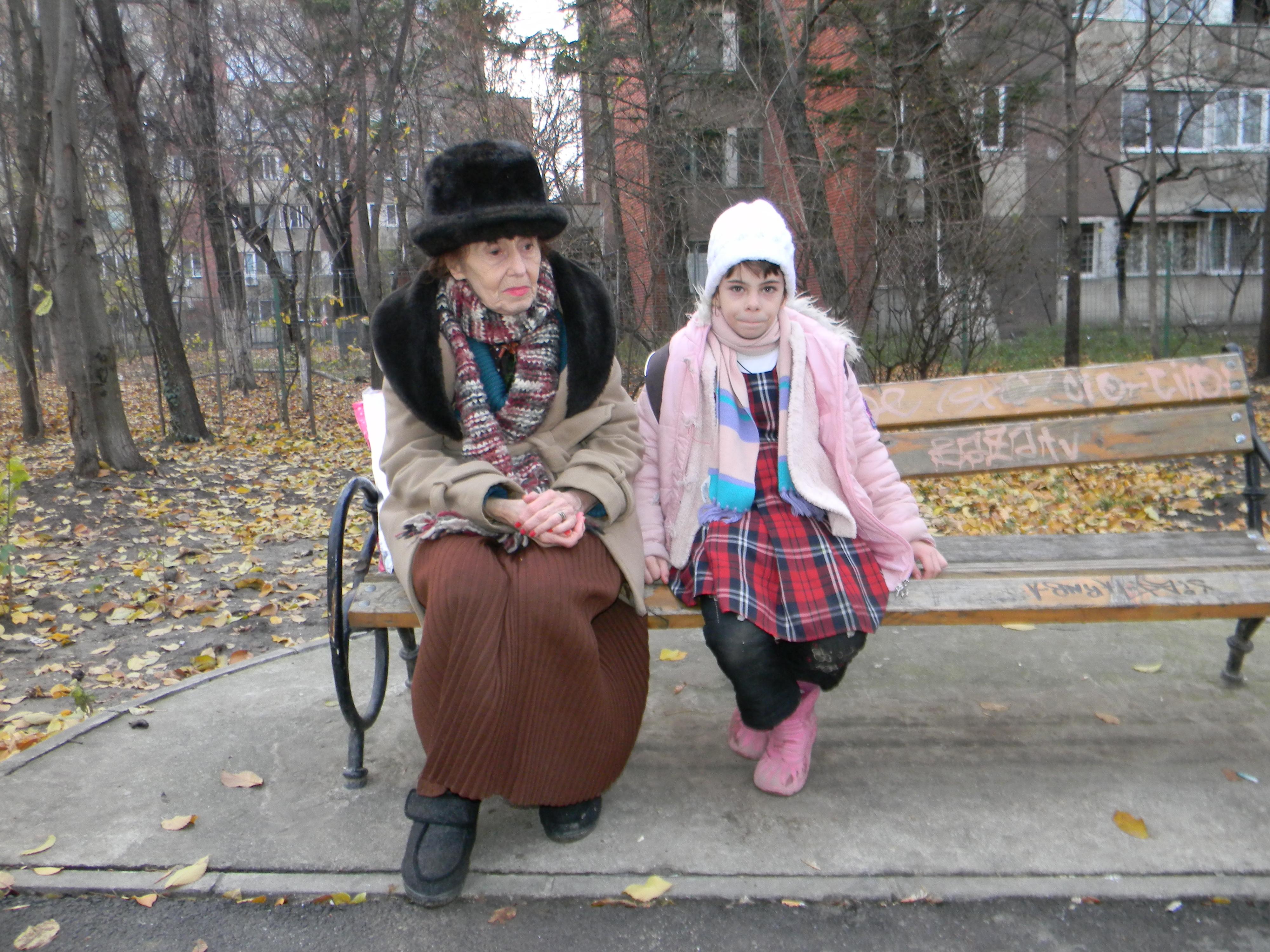 Cea mai batrana mama din Romania Adriana Iliescu