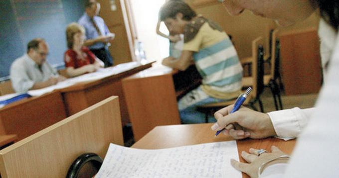 Din momentul repartizarii testelor, niciun candidat nu mai poate intra in sala si nici parasi sala de examen, decat in cazuri exceptionale