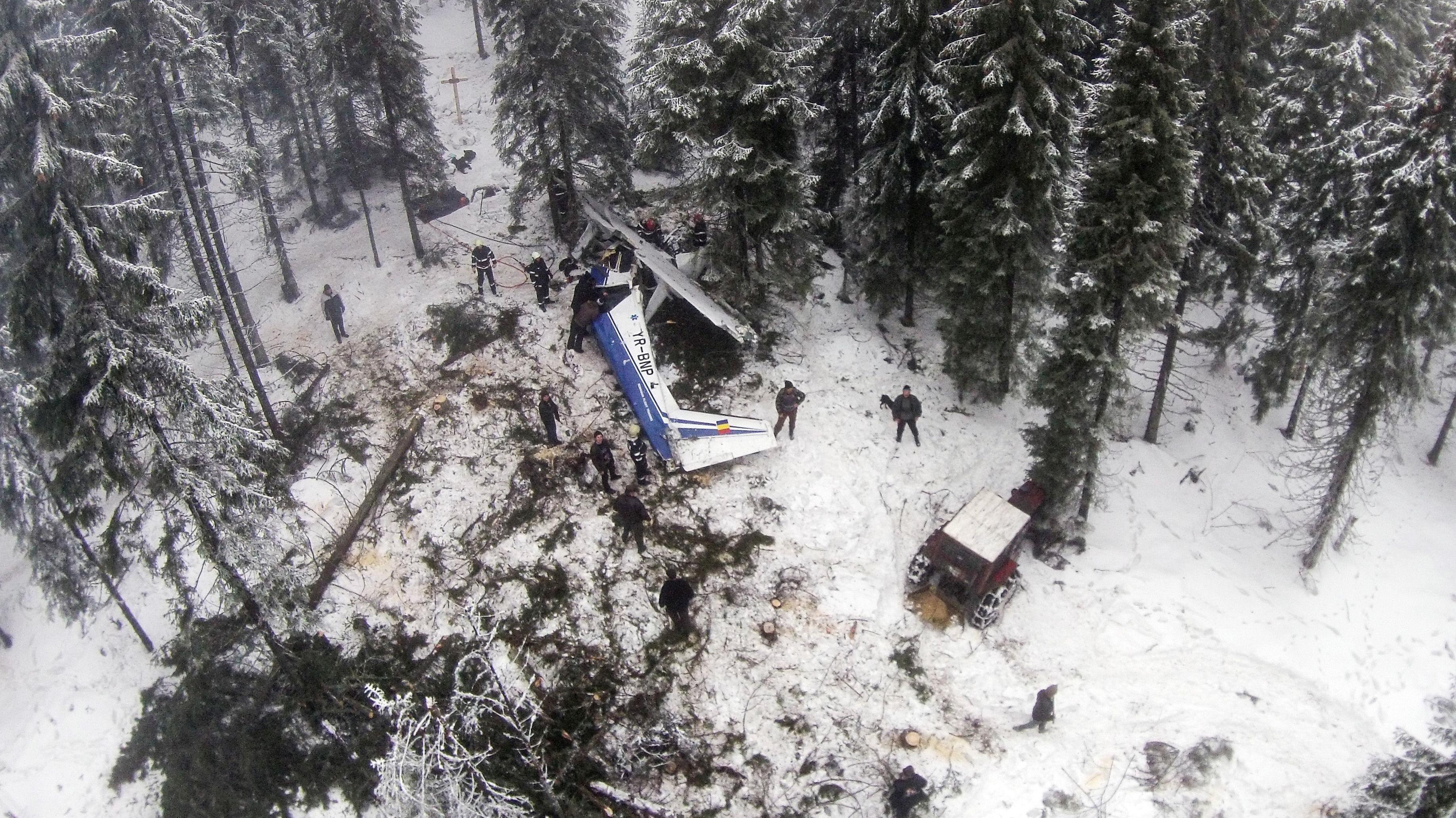 Pilotul Adrian Iovan si-a pierdut viata in accidentul aviatic din Apuseni, la inceputul acestui an