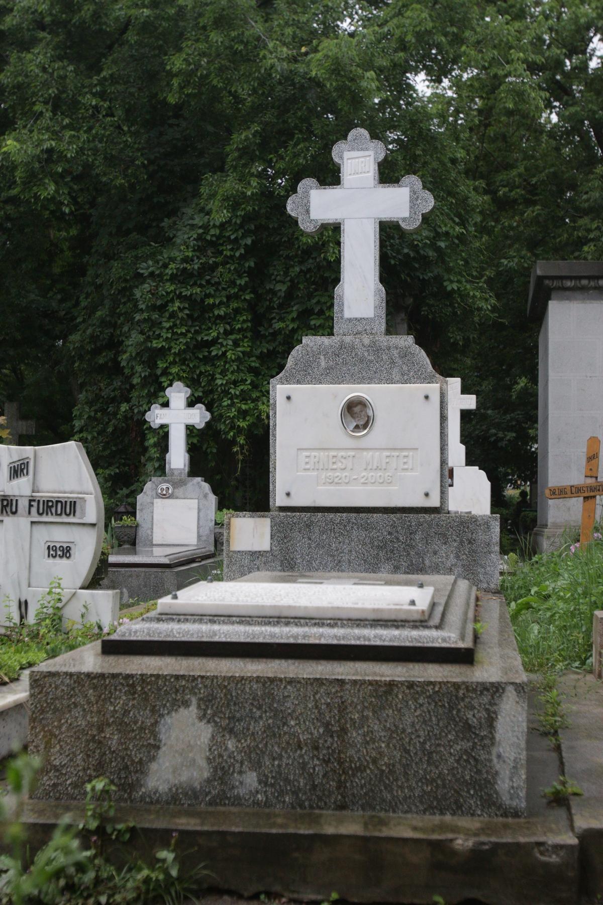 Badia si-a facut inca de cand traia monumentul funerar