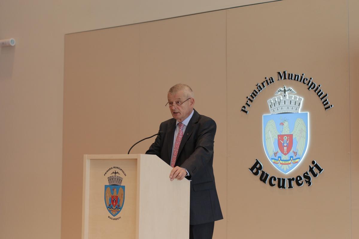 Primarul Sorin Oprescu a prezentat astazi santierele care vor incepe in Bucuresti