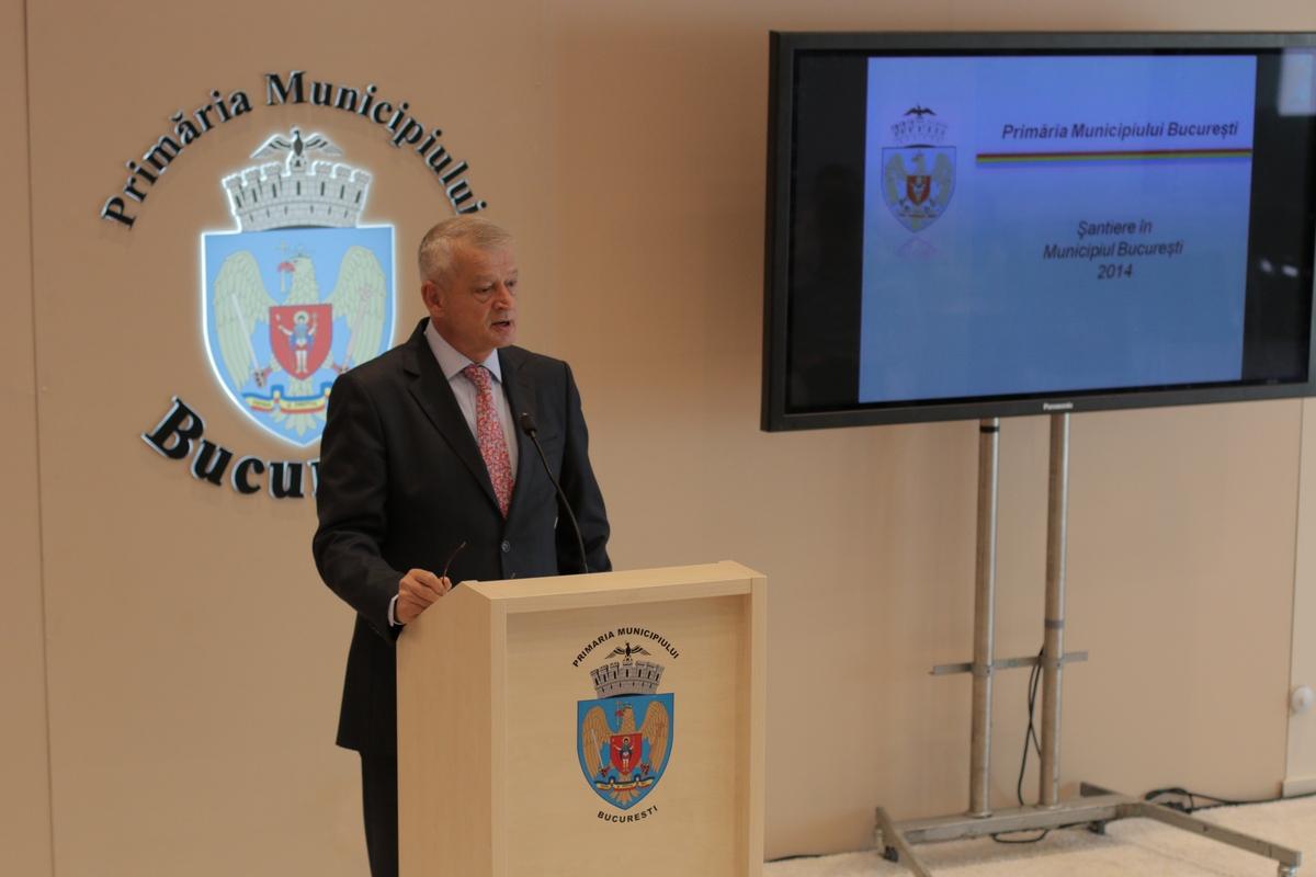 Sorin Oprescu a precizat ca se va lucra la foc automat ca toate santierele sa fie terminate conform termenelor stabilite