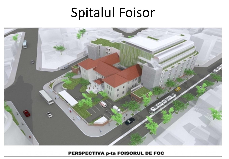 Asa va arata la finalizare spitalul Foisor