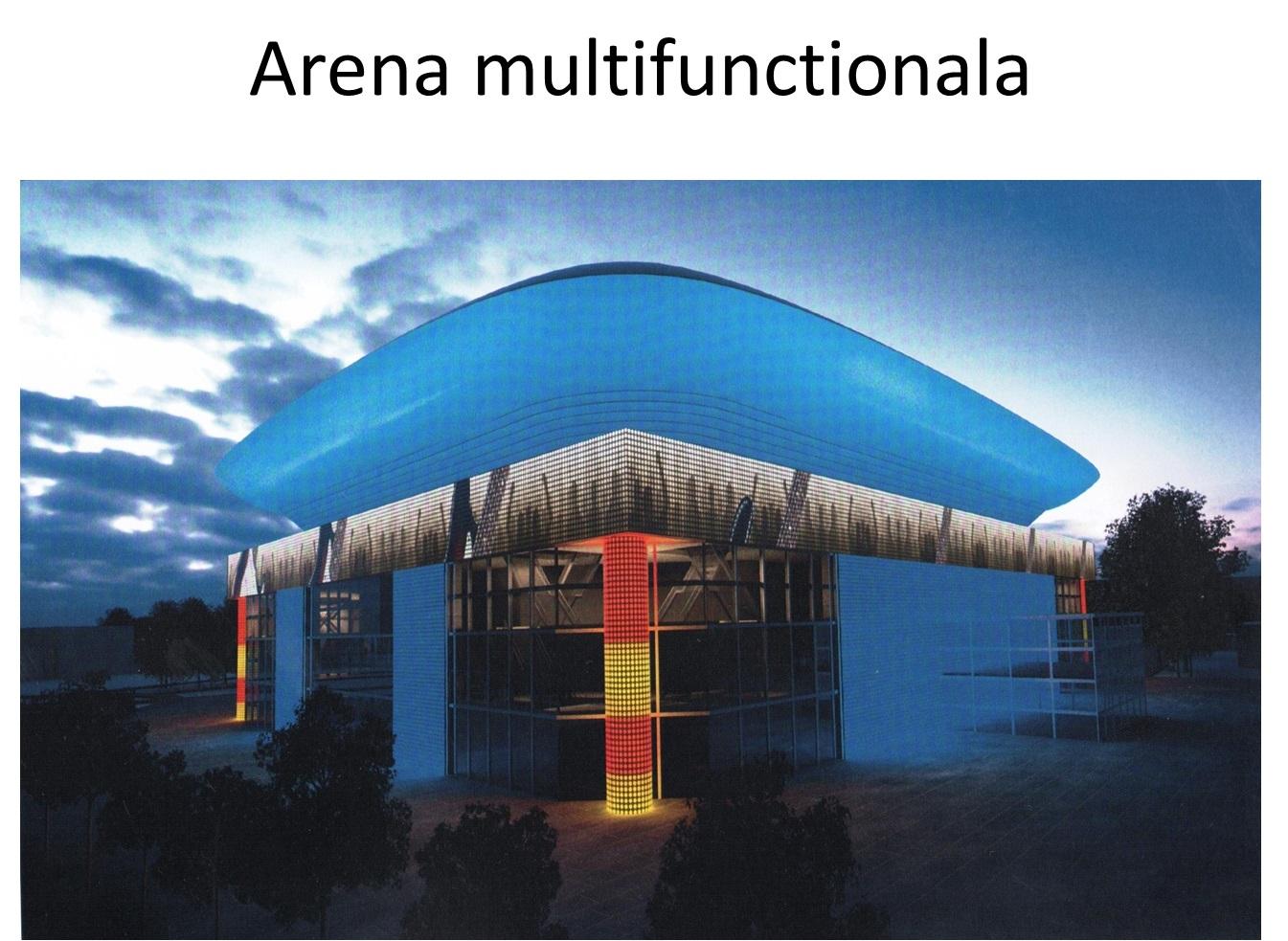 Arena Multifunctionala va fi construita in complexul Lia Manoliu