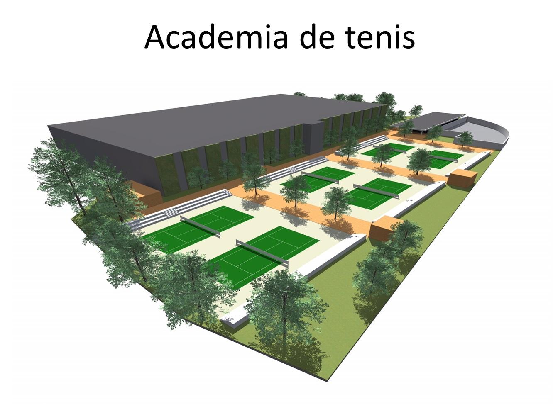 Lucrarile la Academai de Tenis vor incepe cat de curand, iar pana la sfarsitul anului aceasta va fi gata