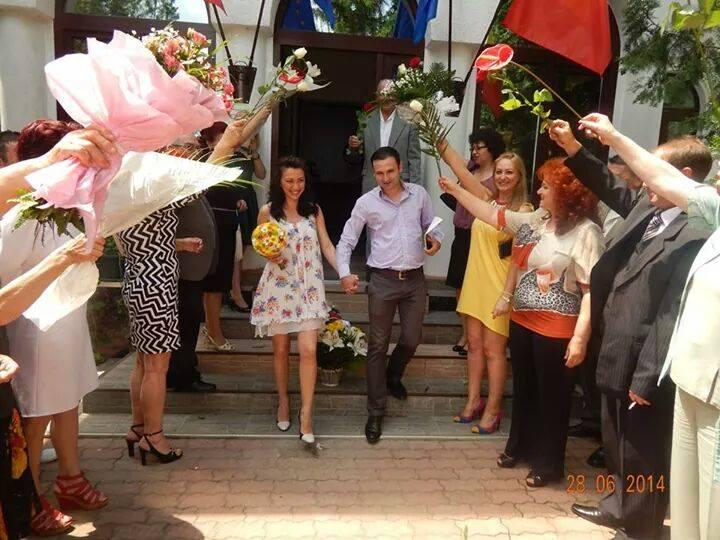 Catalin, fratele corinei Ungureanu, a mers duminica la Starea Civila