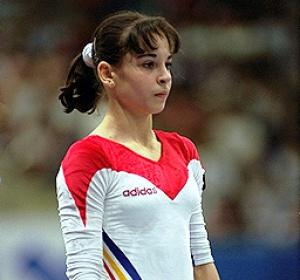 Corina Ungureana a fost una dintre gloriile gimnasticii romanesti