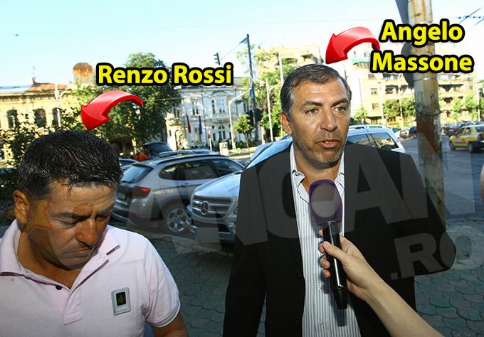 Italianul Angelo Massone a venit la negocieri alaturi de Renzo Rossi, fostul manager al Rapidului