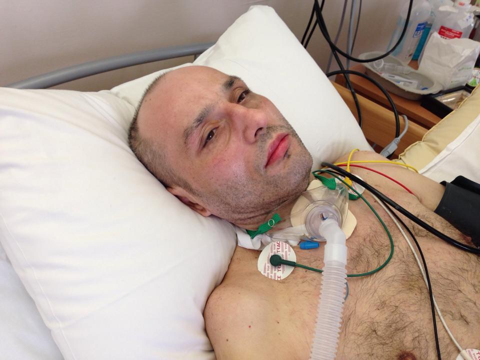 Fiul soferului, Alex Margarit, ne-a spus ca recuperarea tatalui sau merge din ce in ce mai bine
