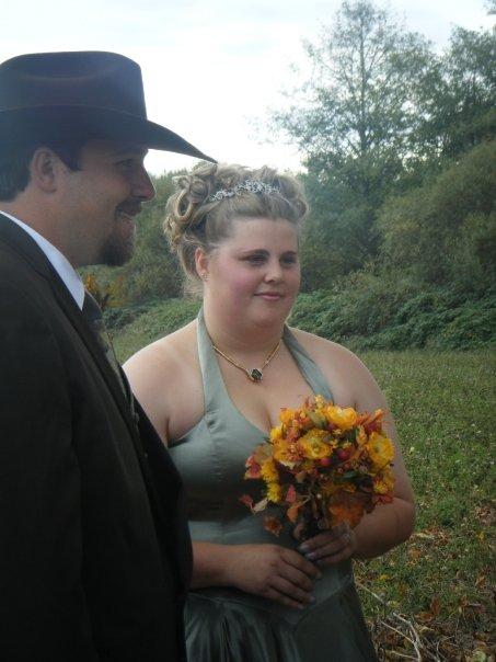 FIica sa Angelica impreuna cu sotul ei
